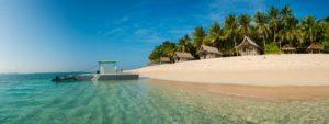 Beautiful beach Siargao Philippines