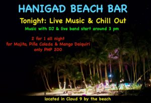 Hanigad Beach Bar - Siargao