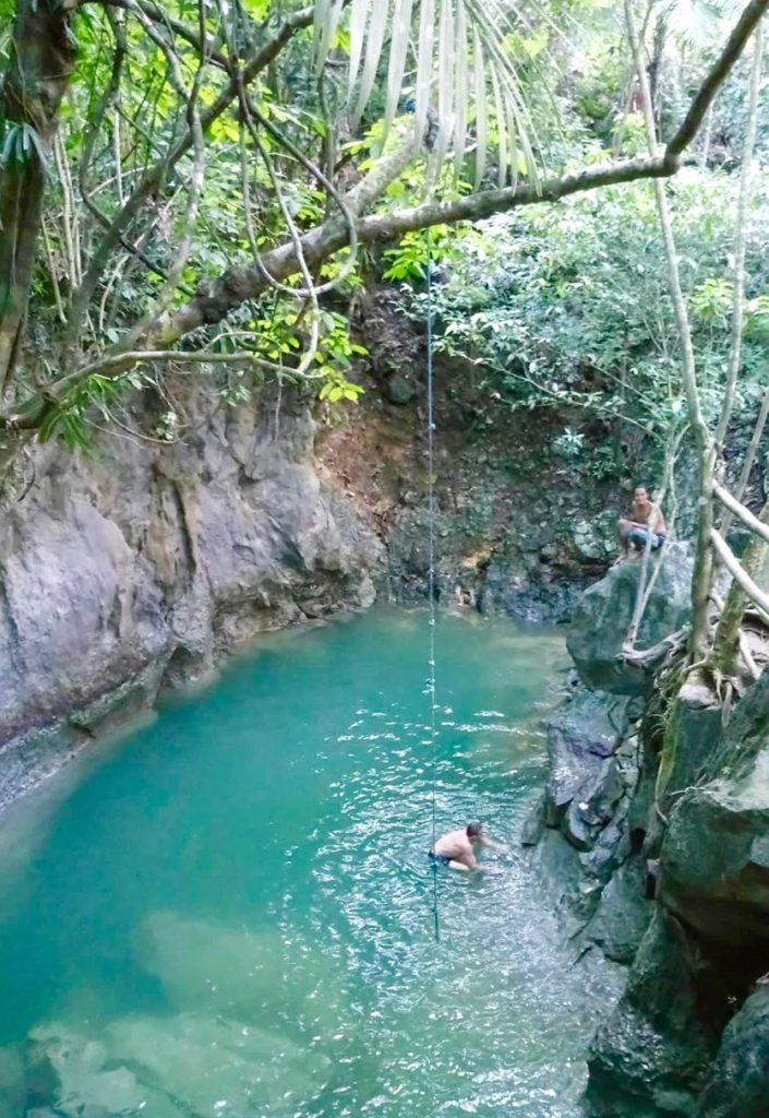 Tayangban Cave Pool